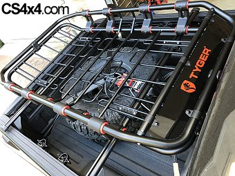 jeep gladiator rack storage